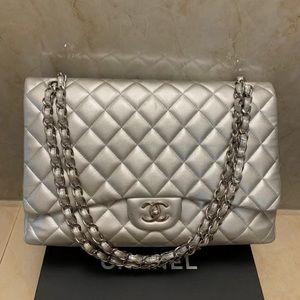 Chanel Single flap maxi handbag
